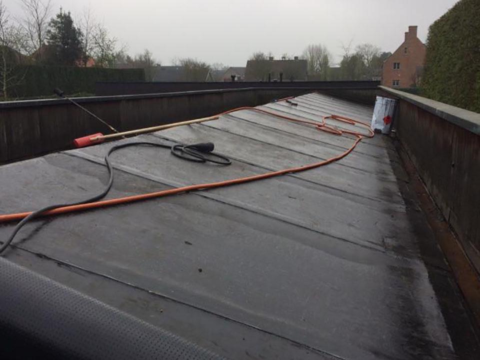 Plat dak - dakwerken Margodt