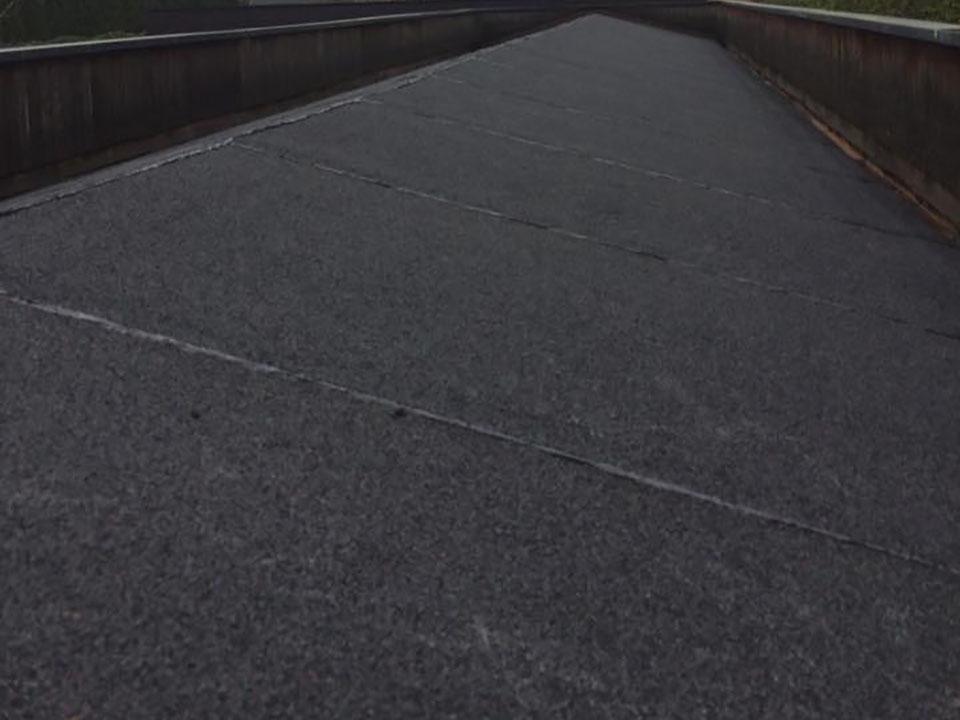 Platte daken - toplaag met leislag ter bescherming